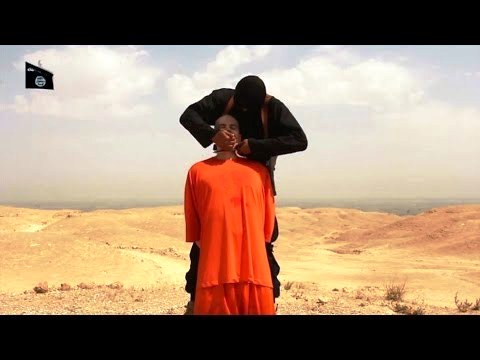 Beheading the brave, dignified Steve Sotloff